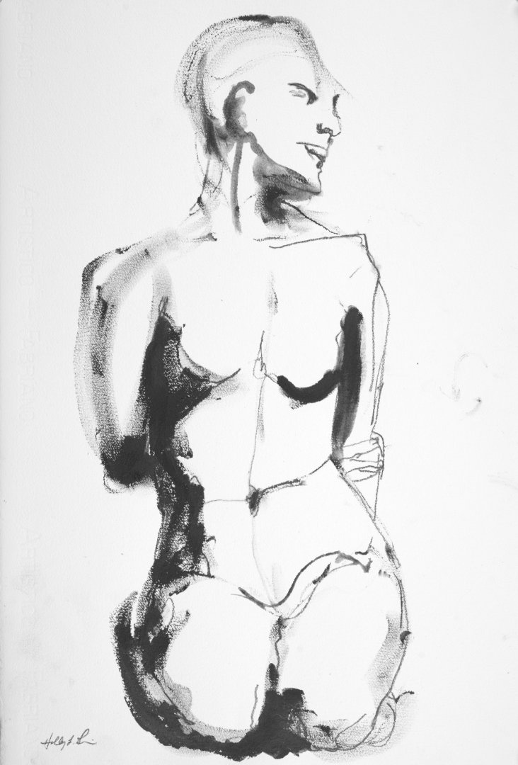 Life Drawing - Apr 12, 2016 #1