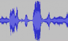 Sylvia Plath Generated Waveform